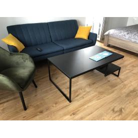 Журнальний кавовий столик GoodsMetall в стилі Лофт 1200х700х450 ЖС130