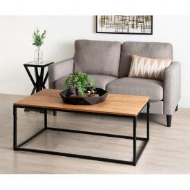 Журнальний кавовий столик GoodsMetall в стилі Лофт 1100х600х450 ЖС150