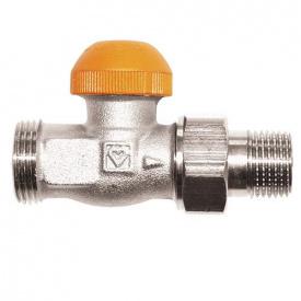 """Термостатический клапан HERZ-TS-98-V с открытой предварительной настройкой проходной 1/2 """""""