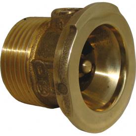 Клапан обратный с подключением к насосу Ду25