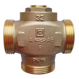 Трехходовой термостатический регулирующий клапан Teplomix DN 25