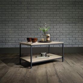 Журнальный кофейный столик GoodsMetall в стиле Лофт 800х450х450 Ронни