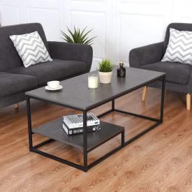 Журнальный кофейный столик GoodsMetall в стиле Лофт 1200х600х500 ЖС149
