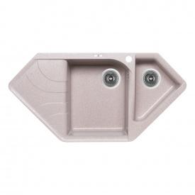 Кухонная мойка Lidz с дополнительной чашей 1000x500/225 MAR-07 (LIDZMAR071000500225)