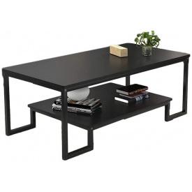 Журнальний кавовий столик GoodsMetall в стилі Лофт 1200х600х450 ЖС147