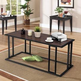 Журнальний кавовий столик GoodsMetall в стилі Лофт 1200x500x550 ЖС151