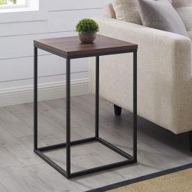 Приставний журнальний кавовий столик GoodsMetall в стилі Лофт 600х400х400 ЖС131