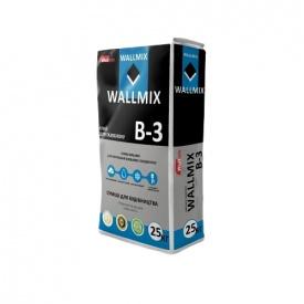 Клей для газоблока Wallmix B-3 25 кг
