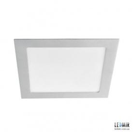 Светодиодный светильник Kanlux KATRO Квадрат 18W-4000K серебряный