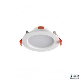 Светодиодный светильник Kanlux LITEN Круг 8W-3000K белый