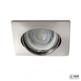 Встраиваемый светильник Kanlux NESTA DTL-C/M GU10 Хром матовый