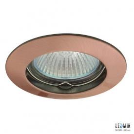 Встраиваемый светильник Kanlux VIDI CTC-5514-AN G5.3 медь матовая