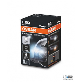 Светодиодная автолампа Osram PS19W LED 12V 3W PG20 комплект 1шт