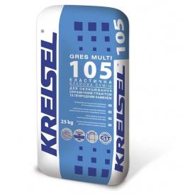 Клей для керамограніту KREISEL 105 Gres Multi 25 кг