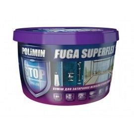 Затирка для плитки POLIMIN Fuga superflex белая 2кг
