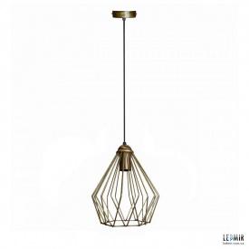 Потолочный подвесной светильник NL 05371 BN бронза