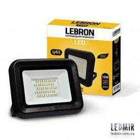 Светодиодный прожектор Lebron 10W-6200K