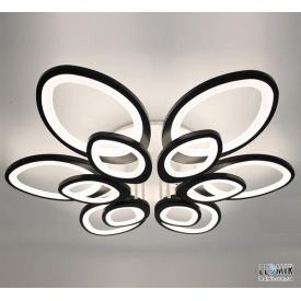 Светодиодная люстра F+Light Smart Light LD3477-12BK 156W-2700-7000K
