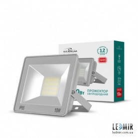 Світлодіодний прожектор Titanum 10W-6000K