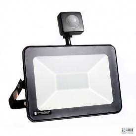 Светодиодный прожектор ElectroHouse 30W-6500K с датчиком движения