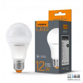 Світлодіодна лампа Videx A60 12W-E27-4100K з датчиком руху