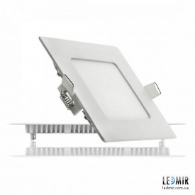 Светодиодный светильник Lezard Квадрат Downlight 6W-4200K