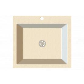 Гранітна мийка Idis Comfort plus №7 520x580 Vanilla