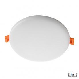 Светодиодный светильник Kanlux AREL Круг 14W-3000K белый безрамочный