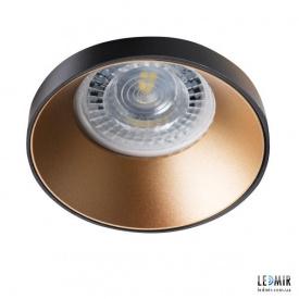 Встраиваемый светильник Kanlux SIMEN DSO B/G GU10 Черный