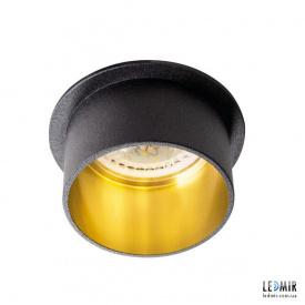 Встраиваемый светильник Kanlux SPAG S B/G GU10 Черный / Золотой