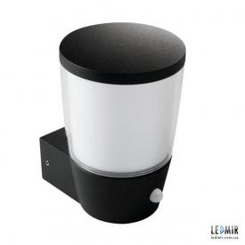 Фасадный светильник Kanlux SORTA 16L-UP-SE E27 с датчиком движения, черный