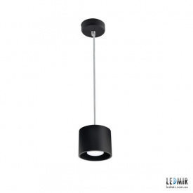 Потолочный подвесной светильник Kanlux ALGO GU10 PO-B, черный
