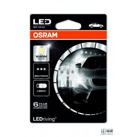 Светодиодная автолампа Osram 1W-12V-4000K комплект 2шт