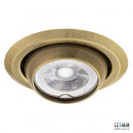 Встраиваемый светильник Kanlux ARGUS CT-2117-BR/M G5.3 латунь матовая