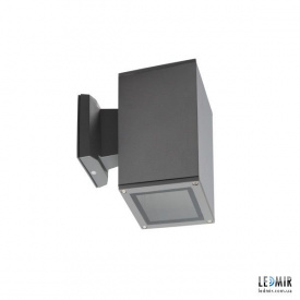 Фасадный светильник Kanlux LART EL-160-GR E27, антрацит
