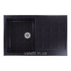 Гранітна мийка Idis Carex №2 780x500 Obsidian