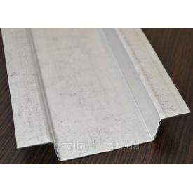 Омега профіль оцинкований 15x15x75x15x15 мм 3 м