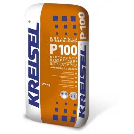 Мінеральна декоративна штукатурка KREISEL Р-100 Баранець 1,5 мм 25 кг