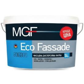 Краска фасадная MGF Eco Fassade M 690 белая 1,4 кг