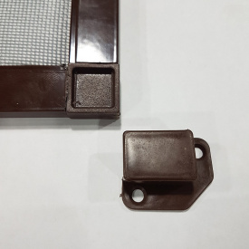 Наружная москитная сетка (на карманах) Коричневая 150, 180