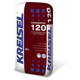 Термоізоляційна кладочна суміш KREISEL 120 Dammortel 30 л