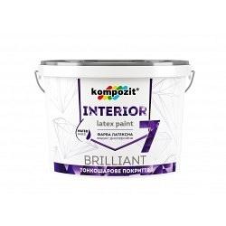 Краска интерьерная латексная KOMPOZIT Interior 7 1,4 кг
