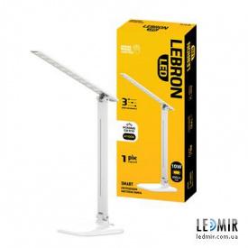 Светодиодная настольная лампа Lebron 10W-4100K Белая