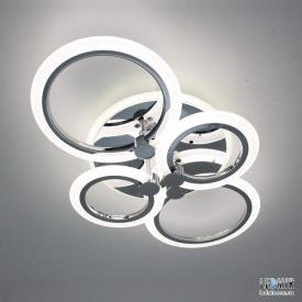 Светодиодная люстра F+Light Smart Light LD3584-4 CR 56W-2700-7000K