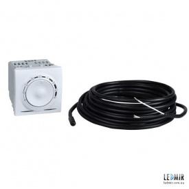 Термостат Schneider Unica белый для теплого пола