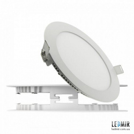 Светодиодный светильник Lezard Круг Downlight 9W-6400K