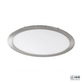 Светодиодный светильник Kanlux ROUNDA Круг 24W-4000K никель