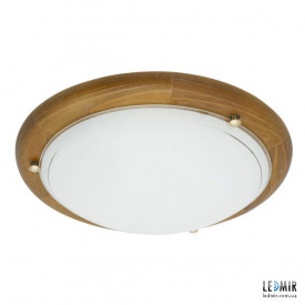 Накладной светильник Kanlux TIVA 1030 SDR/ML-DB E27 дуб