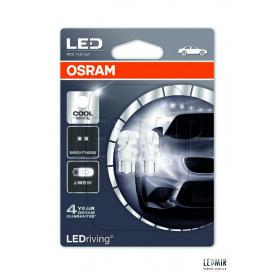 Светодиодная автолампа Osram 1W-12V-6000K комплект 2шт