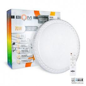 Светодиодный светильник Biom Smart Light SML-R14-70-M W-70-3000-6500K, RGB, музыкальный, BT, APP